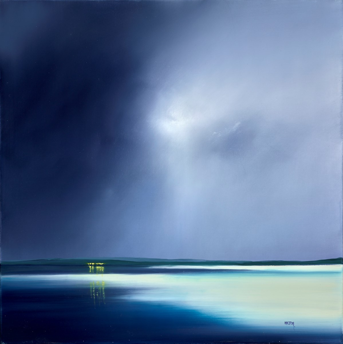 Sandbar by barry hilton -  sized 28x28 inches. Available from Whitewall Galleries